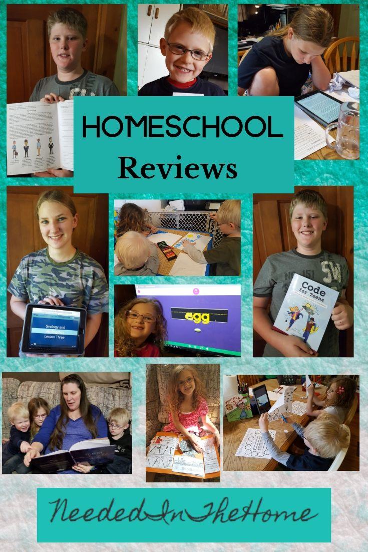 Homeschool Reviews homeschool parent and children students using homeschool materials curriculum neededinthehome