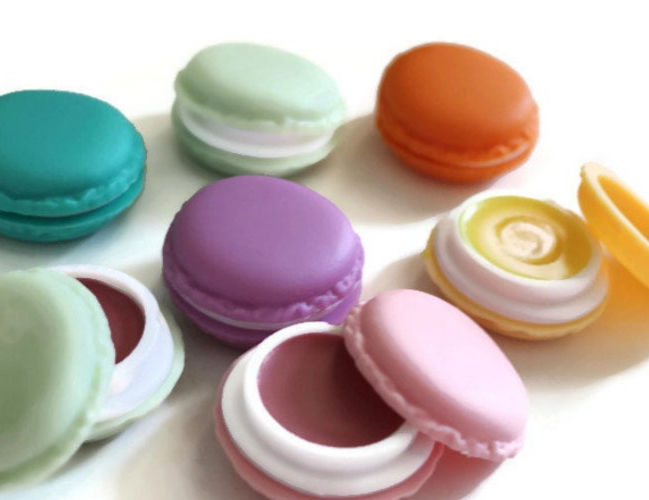 Unique stocking stuffers for your adult children macaroon lip balm
