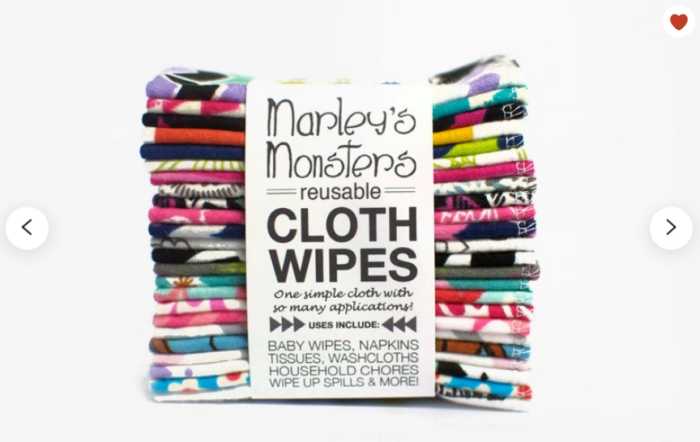 Reusable items to get marley's monsters reusable cloth wipes