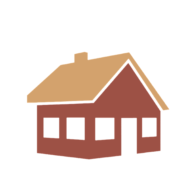 illustration brown house tan roof home repair try to fix by yourself