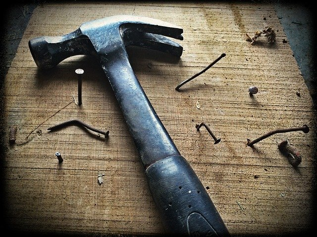 jobs you should not take into your own hands carpentry hammer nails wood board