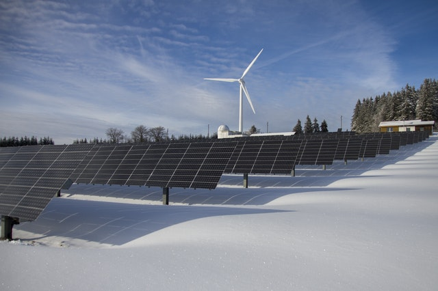 is your home prepared for weather changes windmill solar panels snow