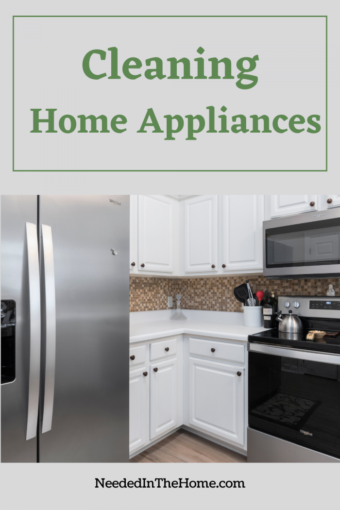 pinterest-pin-description Cleaning Home Appliances refrigerator microwave stove neededinthehome