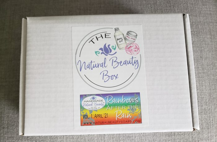 Unboxing of Handmade Natural Beauty subscription box neededinthehome