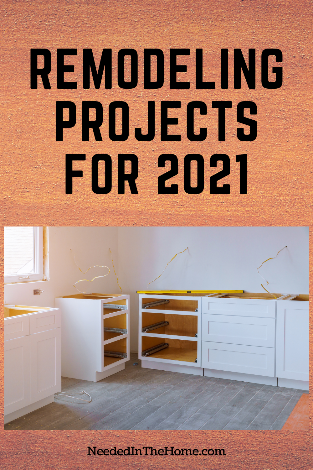 pinterest-pin-description remodeling projects for 2021 cupboards wiring flooring home office remodel neededinthehome