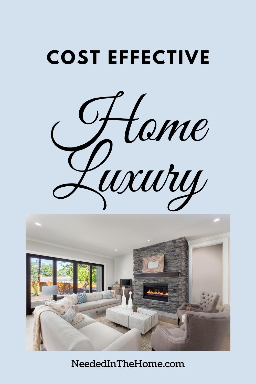 pinterest-pin-description cost effective home luxury living room fireplace windows sofa neededinthehome