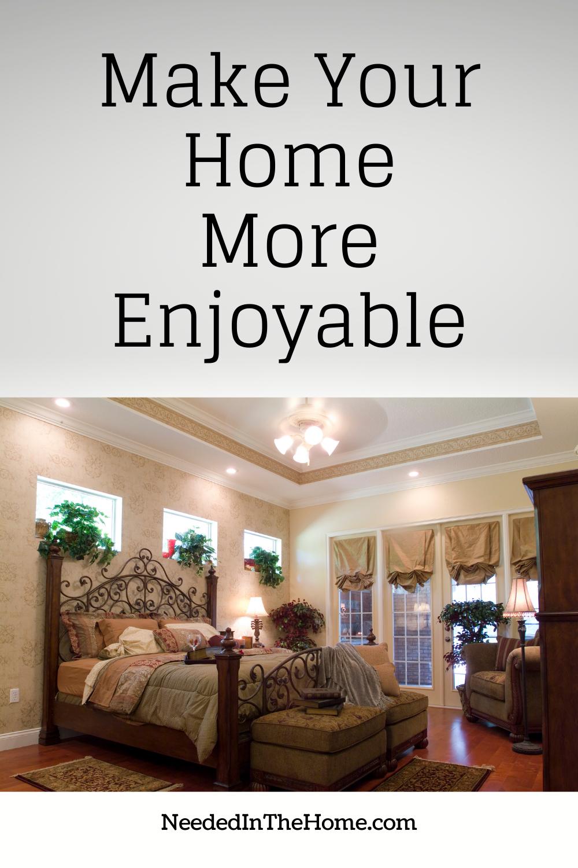 pinterest-pin-description make your home more enjoyable elegant bedroom neededinthehome