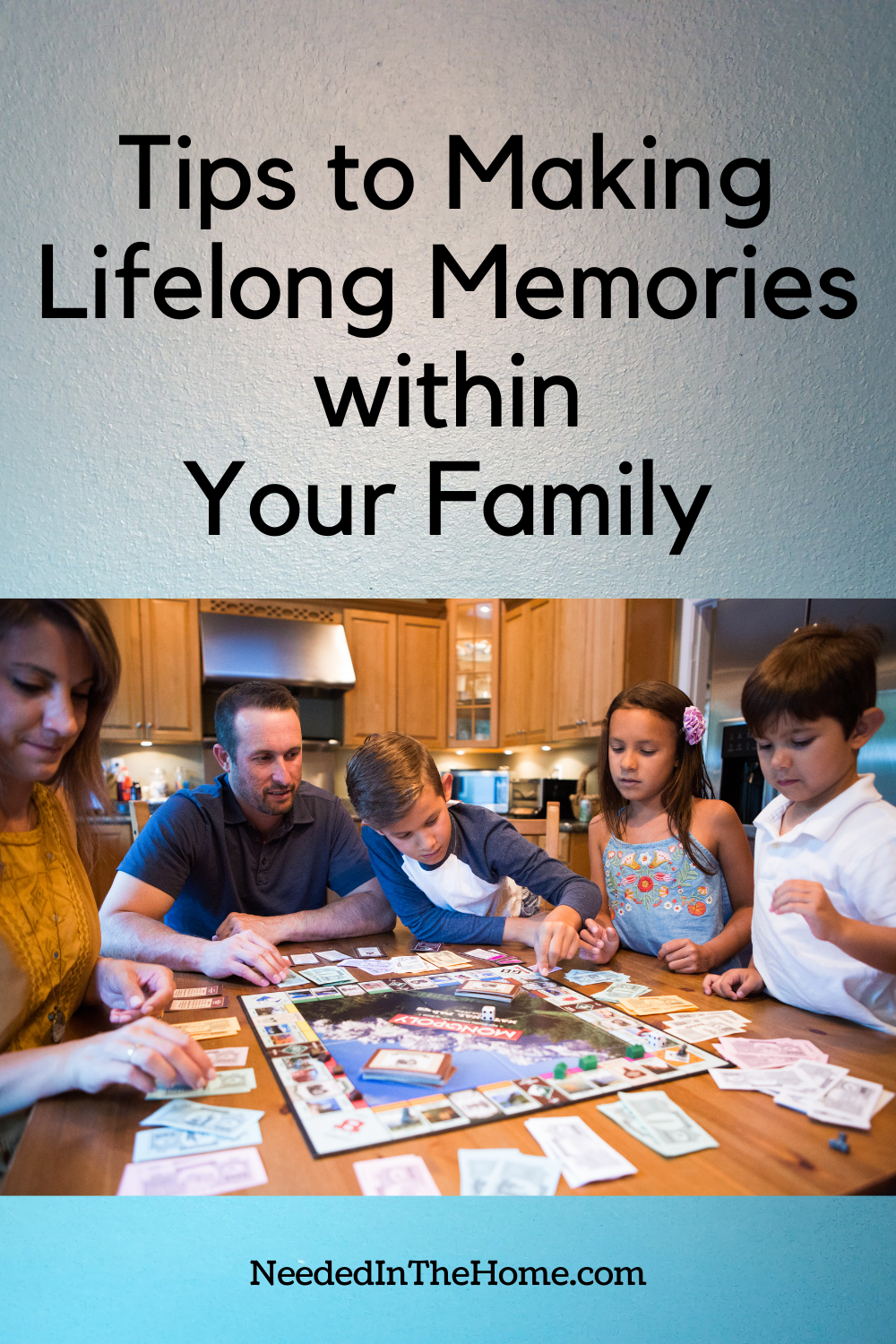 pinterest-pin-description tips to making lifelong memories within your family game night board game neededinthehome